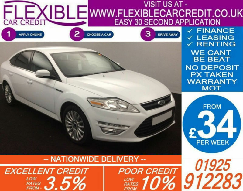 2013 FORD MONDEO 1.6 TDCI ZETEC BUSINESS EDT GOOD BAD CREDIT CAR FINANCE AVAIL
