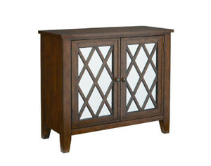 Mirrored sideboard in brown display model  new