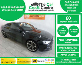 2014 Audi A5 2.0TD Black Edition ***BUY FOR ONLY £76 PER WEEK***