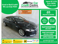 2012 Jaguar XF 2.2TD AUTO ***BUY FOR ONLY £52 PER WEEK***