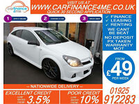 2008 VAUXHALL ASTRA 2.0 VXR NURBURGRING GOOD BAD CREDIT CAR FINANCE FROM 49 P/WK