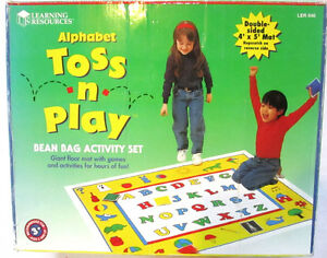 BEAN BAG ALPHABET TOSS N PLAY by Learning Resources. Windsor Region Ontario image 1