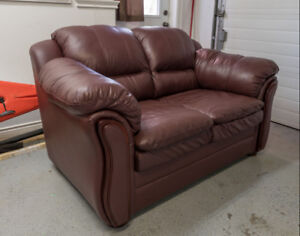 Love Seat, Leather