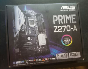 ASUS Motherboard Z270-A PRIME RGB
