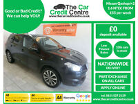2012 Nissan Qashqai+2 1.6dCi ( S/S ) 2WD N-TEC+ ***BUY FOR ONLY £55 A WEEK***