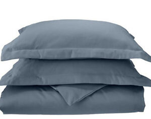 BrandNew 1000 thread count 100% cotton duvet cover and 2 shams.