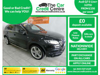 2013 Audi Q7 3.0TDI S Line Plus ***BUY FOR ONLY £150 PER WEEK***