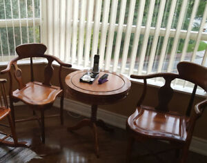 Vintage table and chairs set