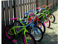 SECONDHAND CHILDRENS BIKES GOOD SELECTION FROM £15
