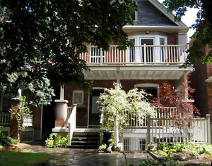 Garden Apt with Private Porch in High Park Roncesvalles