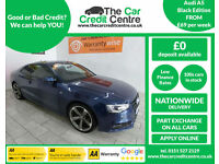 2013 Audi A5 2.0TD S-LINE Black Edition AUTO ***BUY FOR ONLY £69 PER WEEK***