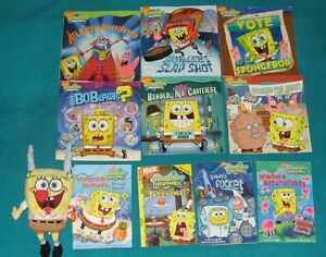 Sponge Bob Book Collection , Phonics and Stuffie