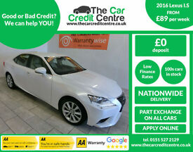 2016 Lexus IS 300h 2.5 ( 223bhp ) E-CVT Executive Edition **BUY FOR £89 A WEEK**