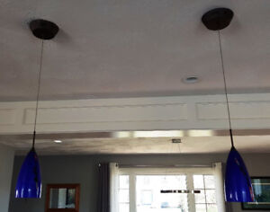 2 pendant lights for sale-  Dieppe