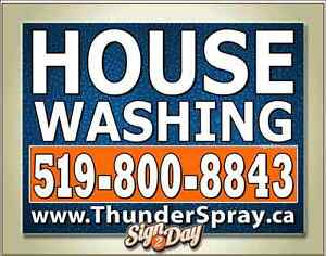 House Washing, Driveway and Sidewalk cleaning, Pressure washing