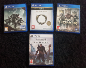 Assassins Creed Valhalla PS5 - Includes 3 PS5 Free Upgrade Games