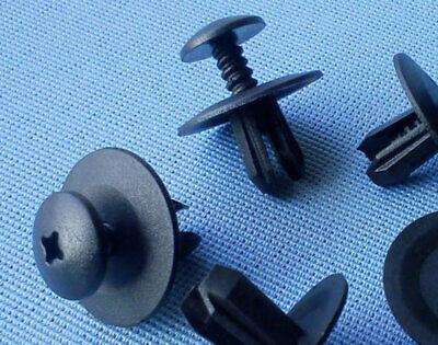 10x Verkleidung Clips Befestigung Klips Halter schraube clip für BMW schwarz 60A