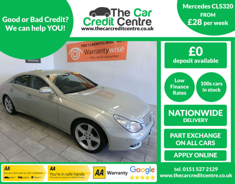 2006 Mercedes-Benz CLS320 3.0CDi 7G-Tronic 320 ***BUY FOR ONLY £28 A WEEK***