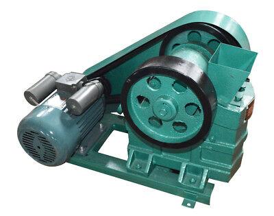 220v Adjust Jaw Crusher Rock Slag Steel Coal Stone Coom Crush Machine Store Usa