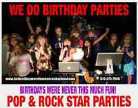 Kids Famous Rock and Pop Star Birthday Parties Owen Sound