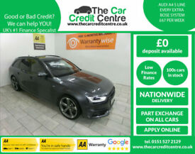 2014,Audi A4 Avant 2.0TDI 150bhp Avant Black Edition**BUY FOR ONLY £64 PER WEEK*