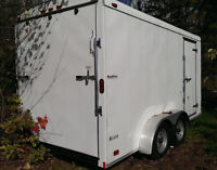 Heavy Duty 7'x14' - ramp door, optioned out, top of the line.