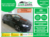 2014 Volkswagen GOLF GTD 2.0 TDI 184 DSG, AUTO ***BUY FOR ONLY £69 A WEEK***