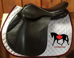 "17"" Heritage Yin-Yang MKII Close Contact Saddle"