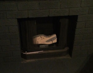 Gelled Alcohol fireplace 26W*25.5H*15D  $50