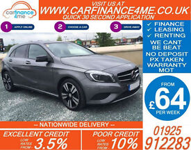 2014 MERCEDES A180 CDI SPORT GOOD / BAD CREDIT CAR FINANCE FROM 64 P/WK