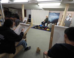 Life Drawing Class for High school to University students