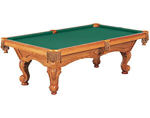 WTS Bruinswick pool table.