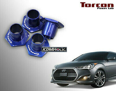 TORCON Power Lab Rigid Collar Set for Hyundai Veloster Turbo (Subframe Collars)