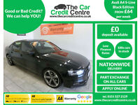 2013 Audi A4 2.0TDI 143 Multitronic Black Edition ***BUY FOR ONLY £64 A WEEK***