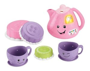 NEW: Fisher Price Laugh and Learn Smart Stages Tea Set - English