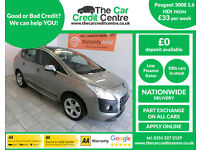 2010 Peugeot 3008 Crossover 1.6HDi ( 112bhp ) FAP EGC Exclusive