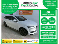 2013,Audi Q7 3.0TDI 245bhp auto quattro S Line***BUY FOR ONLY £144 PER WEEK***