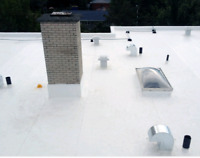 Flat roofing repair and installation