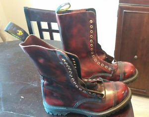 BRAND NEW NEVER WORN!!! NPS Parade Boots, OXBlood Size 12