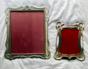 Seagull Pewter Picture Frames - 8x10 and 4x6