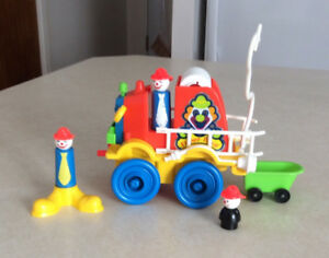 Camion pompier clown Fisher Price