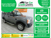 2008 Land Rover Discovery 3 2.7TD AUTO ***BUY FOR ONLY £55 PER WEEK***