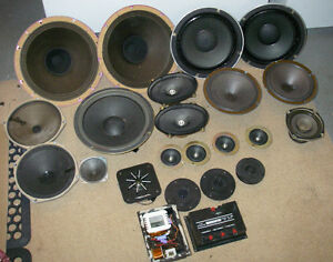 Speakers and Parts