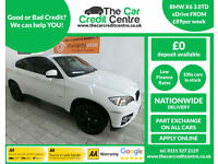 2010 BMW X6 3.0TD 245 4X4 Auto xDrive 30d ***BUY FOR ONLY £89 A WEEK***