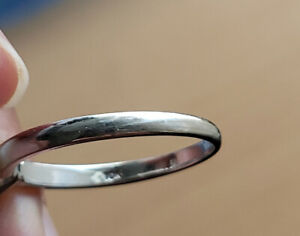 10K White Gold Wedding ****Ring