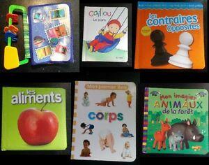 Livres usagés pour enfants (2-5 ans) - Used children books