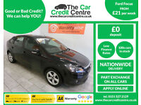 2009 Ford Focus 1.6 ( 100bhp ) Zetec ***BUY FOR ONLY £21 PER WEEK***