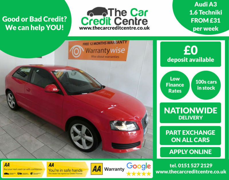 2009 Audi A3 1 6 Technik ***BUY FOR ONLY £31PER WEEK