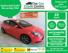 2014 Ford Focus ST 2.0T ( 250bhp ) ***BUY FOR ONLY £67 PER WEEK***