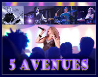 Party band disponible...5 AVENUES